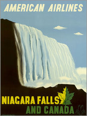 Sticker mural  American Airlines Niagara Falls and Canada - Travel Collection