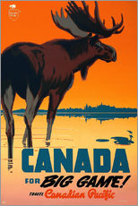 Sticker mural  Canada for big game - Travel Collection
