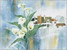 Sticker mural  Calla Bouquet - Franz Heigl