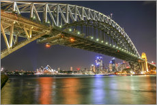 Sticker mural  Harbour Bridge, Sydney - Thomas Hagenau