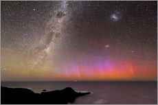 Sticker mural  Aurora australis and Milky Way - Alex Cherney