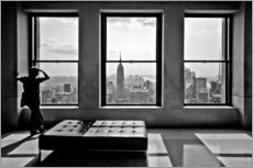 Sticker mural  New York, Top of the Rock - Thomas Splietker