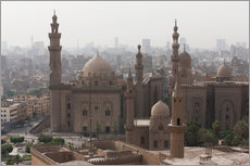 Sticker mural  Mosque of Sultan Hassan in Cairo old town, Cairo, Egypt, North Africa, Africa - Martin Child