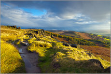 Tableau en plexi-alu  Stanage Edge, Derbyshire - Alan Copson