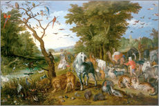 Sticker mural  Noah leads the animals into the ark - Jan Brueghel d.Ä.