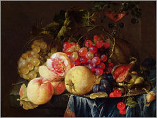 Sticker mural  Nature morte - Cornelis de Heem