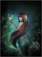 Sticker mural  Deep sea 2 - Elena Dudina