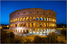 Sticker mural  Colosseum in Rome at night - Jan Christopher Becke