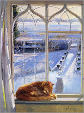 Sticker mural  Cat in the Window - Timothy Easton