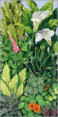 Sticker mural  FOLIAGE I - Catherine Abel
