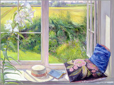 Tableau en plexi-alu  Reading window seat - Timothy Easton