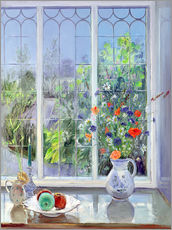 Sticker mural  Still life in the window - Timothy Easton
