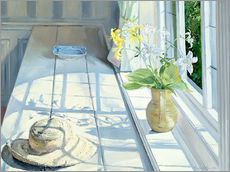 Tableau en plexi-alu  Still life in front of the window - Timothy Easton