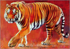 Tableau en plexi-alu  Bengal Tiger - Mark Adlington