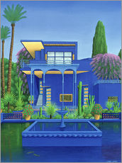 Sticker mural  Jardin Majorelle, Marrakech - Larry Smart