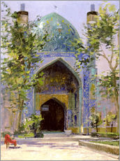 Tableau en plexi-alu  Chanbagh Madrasses, Isfahan - Bob Brown