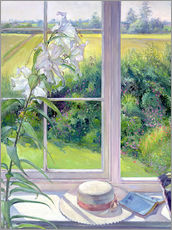 Sticker mural  Reading corner in the window, detail - Timothy Easton