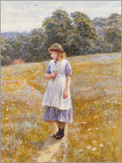 Tableau en plexi-alu  Daydreamer - Helen Allingham