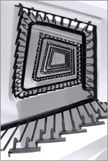 Sticker mural  STAIRCASE I - Sabine Wagner