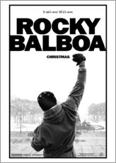 Tableau en plexi-alu  Rocky Balboa (anglais) - Entertainment Collection
