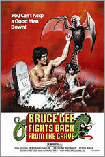 Tableau en plexi-alu  Bruce Lee Fights Back from the Grave (anglais) - Entertainment Collection