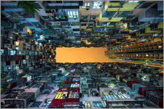Sticker mural  Skyscrapers in Hong Kong - Jan Christopher Becke