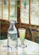 Sticker mural  Table de café et absinthe - Vincent van Gogh