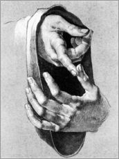 Albrecht Dürer - Study of hands