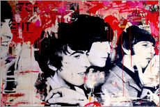 Sticker mural  The Beatles - Michiel Folkers