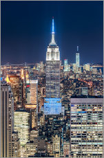 Sticker mural  Empire State Building from Top Of The Rock - Sascha Kilmer