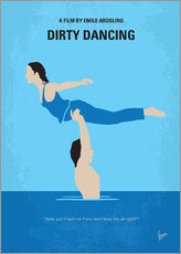 Tableau en plexi-alu  Dirty Dancing - chungkong
