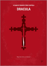 Sticker mural  No263 My DRACULA minimal movie poster - chungkong