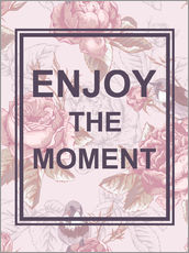 Sticker mural Enjoy the Moment