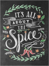 Tableau en plexi-alu  It's all about the Spice - Lily & Val