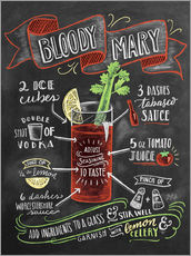 Sticker mural  Bloody Mary recipe - Lily & Val