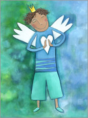 Sticker mural  Guardian Angels for boys - Atelier BuntePunkt