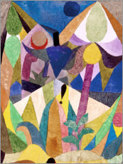 Poster  Paysage tropical - Paul Klee