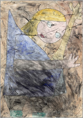 Sticker mural  Angel - Paul Klee