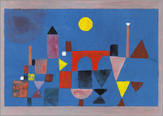 Sticker mural  Le Pont rouge - Paul Klee