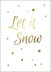 Sticker mural  Let it Snow - Finlay and Noa