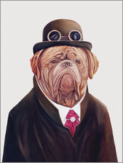 Sticker mural  Dogue de Bordeaux - Animal Crew