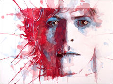 Sticker mural  David Bowie - Paul Lovering