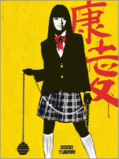 Sticker mural  Gogo Yubari dans Kill Bill - Golden Planet Prints