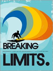 Sticker mural  Surfer, Breaking limits - 2ToastDesign