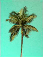 Tableau en plexi-alu  Palm tree - Alex Saberi