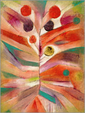 Tableau en aluminium  Plante de printemps - Paul Klee
