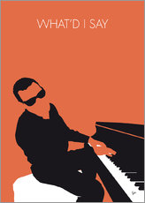 Tableau en plexi-alu  Ray Charles, What'd I say - chungkong