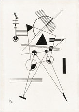 Sticker mural  Lithographie I - Wassily Kandinsky