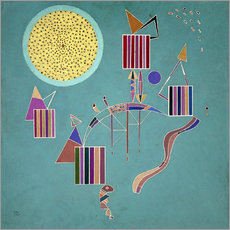 Sticker mural  Message intime - Wassily Kandinsky