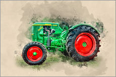 Sticker mural  Tracteur ancien Deutz - Peter Roder